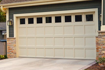 Recessed Panel Garage Doors Wisconsin
